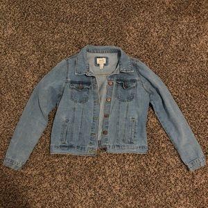 Forever 21 denim light wash jacket